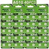 40 Stück Knopfzelle Alkaline Batterie LR1130 LR 1130 AG10 AG 10 1,5V