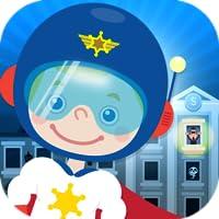 Kinder Polizist