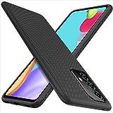 iBetter Kompatibel med Samsung Galaxy A52-fodral, premium flexibelt tunt fodral stötsäkert med droppskyddsfodral kompatibelt