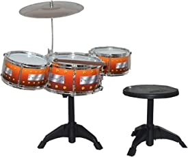 Tabu Toys World Kids Jazz Drum with Stand and Seat