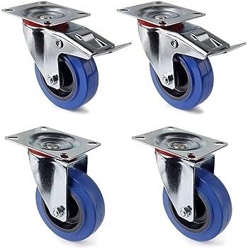 Gli accessori MS ® mobili ruoli trasporto ruoli pesanti ruoli ruota pivotante con freno