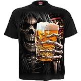 Spiral Live Loud Hombre Camiseta Negro, Regular
