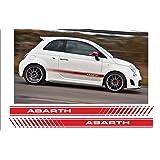 Supersticki 2x Fiat Abarth Scorpion 20cm Aufkleber Sticker Decal Aus Hochleistungsfolie Aufkleber Autoaufkleber Tuningaufkleber Racingaufkleber Rennaufkleber Von Aus Hochleistungsfolie Für Alle Auto
