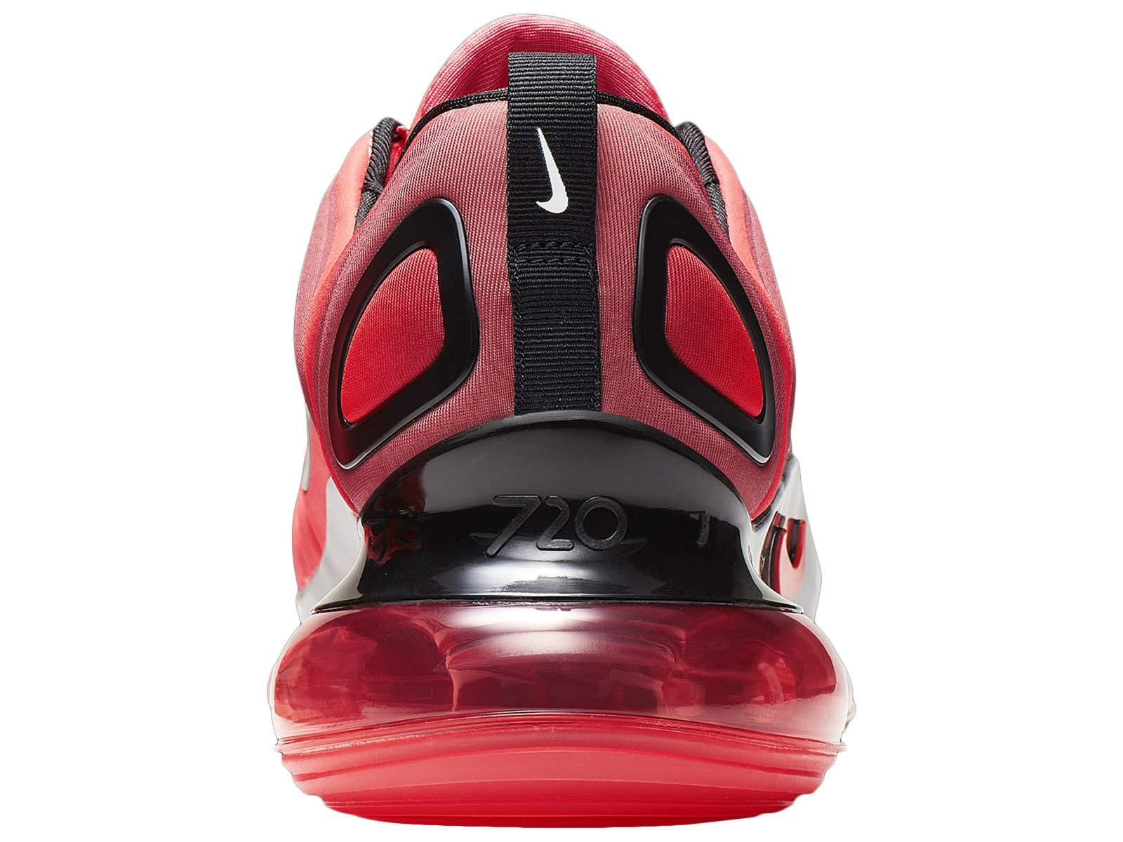 71X1%2B5 lbdL - Nike Men's Air Max 720 Bright Crimson/Black/Ember Glow Mesh Running Shoes 10 M US