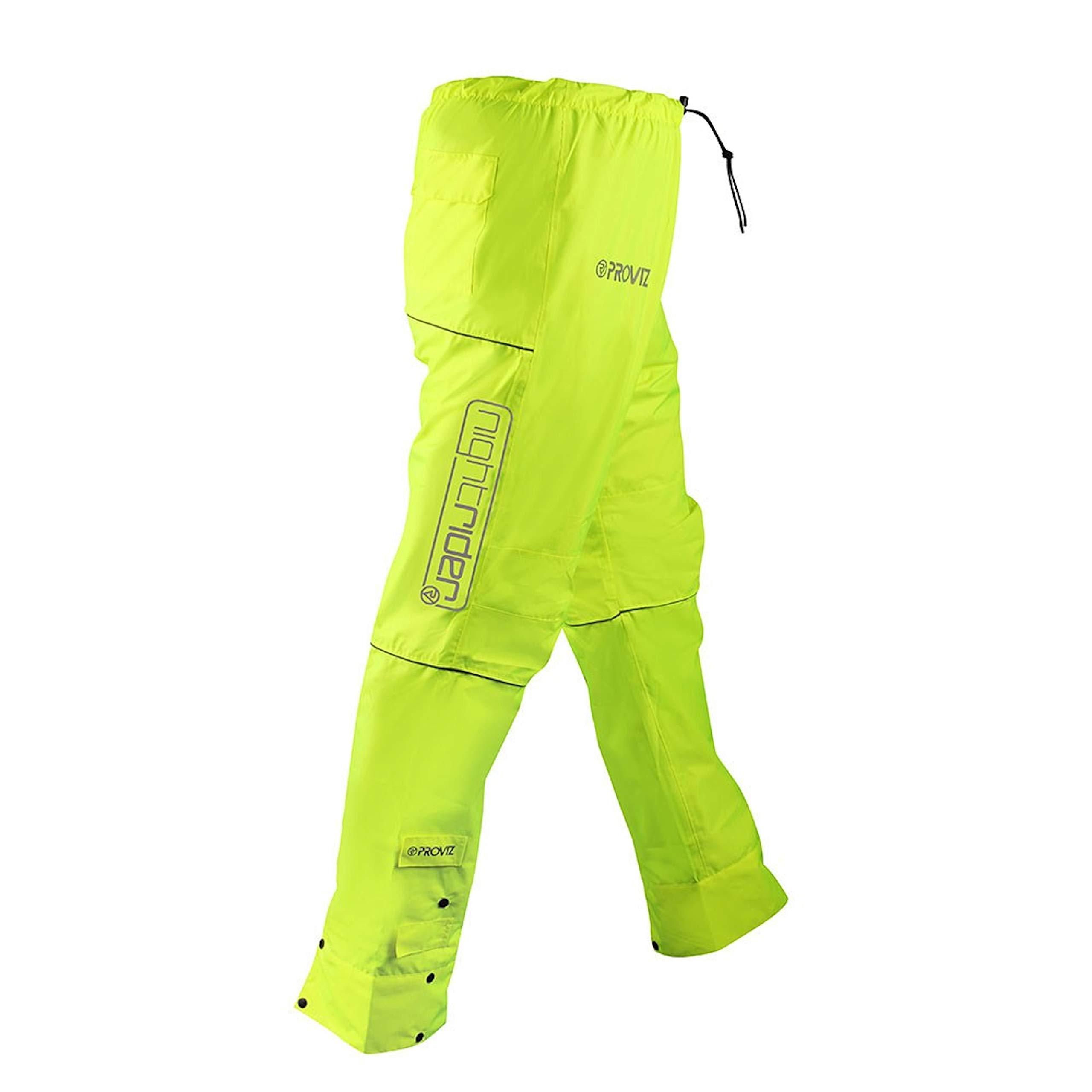 ProViz Nightrider Hose Damen gelb XL Regenhose, Gr. XL