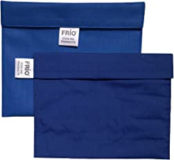 FRIO Insulin Cooling Wallet Extra Large - Blue - 1130X-LGBL