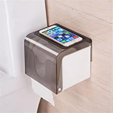 SUPO Magic Sticker Series Self Adhesive Two Way Kitchen/Bathroom Toilet Paper Holder Dispenser