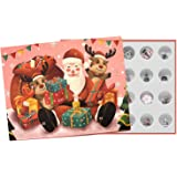 Advent Calendar 2021 Christmas Countdown Calendar - Christmas Themed DIY Charm Bracelet Making Kit for Girls, Jewelry Gift Se