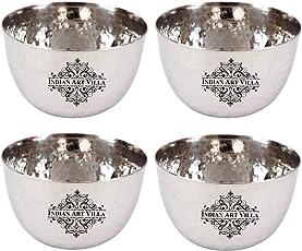 IndianArtVilla Stainless Steel Bowl Katori, Serving Dishes, Tableware