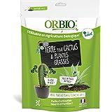 Oro marrón obitccac3–Sustrato Cactus y Plantas Grasses, Verde, 3L