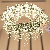 FAIRYTREES Micro LED Lichterkette für Weihnachtsbaum PREMIUM, FairySparks 500 LEDs, Farbtemperatur 2700K (warmweiß…