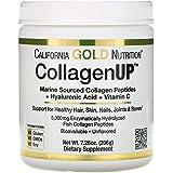 California Gold Nutrition, Collagen UP 5000, Marine Sourced Collagen Peptides, Hyaluronic Acid, Vitamin C, 7.23 oz (205 g)