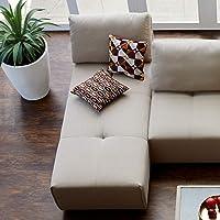 Home Centre Dallas Chaise Modular Sofa- 2 Seater