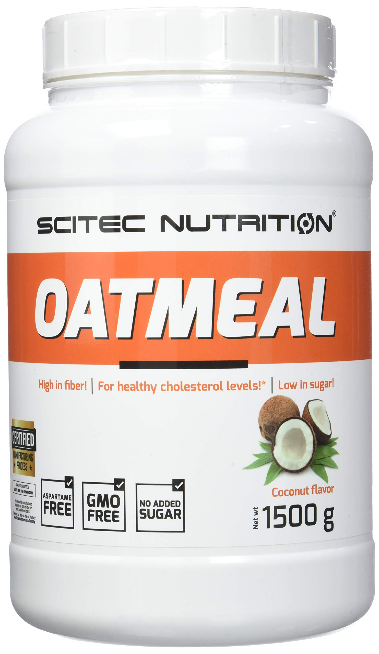 Scitec Nutrition Oatmeal, Gainer, Cocco, 1500 g 1 spesavip