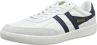 Gola Inca Leather Navy/White, Sneaker Uomo