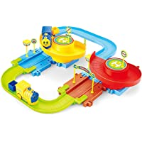 Webby Battery Operated Block Toy Train Track Set 15 Pcs