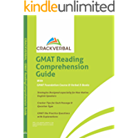 GMAT Reading Comprehension Guide: Concepts, Mapping Technique, Practice Passages, GMAT Foundation Course & Verbal E-Books