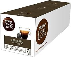 NESCAFÉ Dolce Gusto Café Espresso Intenso | Pack de 3x16 cápsulas de café - Total: 48 Cápsulas de Café