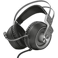 Trust Cuffie Gaming GXT 430 Ironn con Microfono Flessibile e Archetto Autoregolabile, 3.5 mm Jack, Filo, Over Ear, PC…