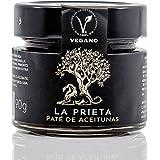 Pate de Aceitunas Prietas Tapenade Olivada de Aceituna Prieta negra Deshidratada vegetal 100% natural ideal para aperitivos v