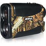 AOFAR HX-700N Telemetro Caza/Golf 700 Yards, Modo de medición de rango y velocidad, Precisión ±1yd, 6X Aumento,Batería Gratis