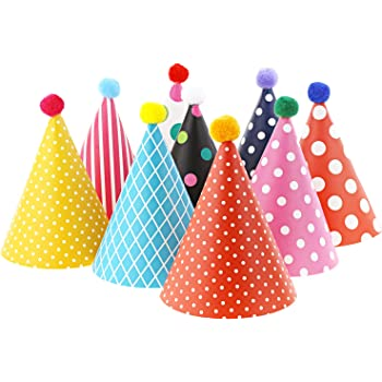 CoolChange Set di Cappellini da Festa costituito da 9 Cappellini e 2 ... 06f976dbe7db