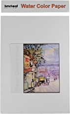 Water Color Handmade Paper (A4 Size) 30 x 42 cm,Pack of 10 Sheets, Used for Sketching, Used for Water, Oil, Pastel Painting