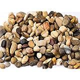 مجموعة احجار طبيعة مصقوله للزينة 100 جرام متعددة الالوان