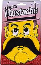 Party Butiko Black Fake Party Moustache