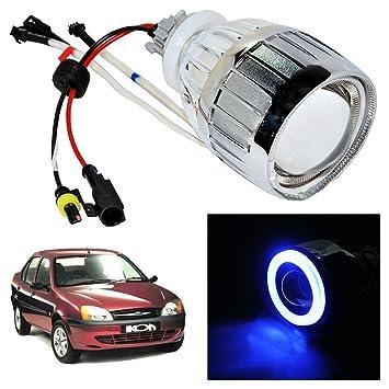 Vheelocityin blue ring projector headlight headlamp for ford vheelocityin blue ring projector headlight headlamp for ford ikon amazon car motorbike sciox Images