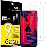 NEW'C 3 Pezzi, Vetro Temperato Compatibile con Huawei P20 PRO, Pellicola Prottetiva Anti Graffio, Anti-Impronte, Durezza 9H,