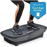 Klarfit Vibe Series • Hochfrequente 3D & 4D Vibrationsplatte • Vibrationstrainer • 1 bis 3 Motoren • Gratis Fitness E-Book • weiß-Silber oder schwarz