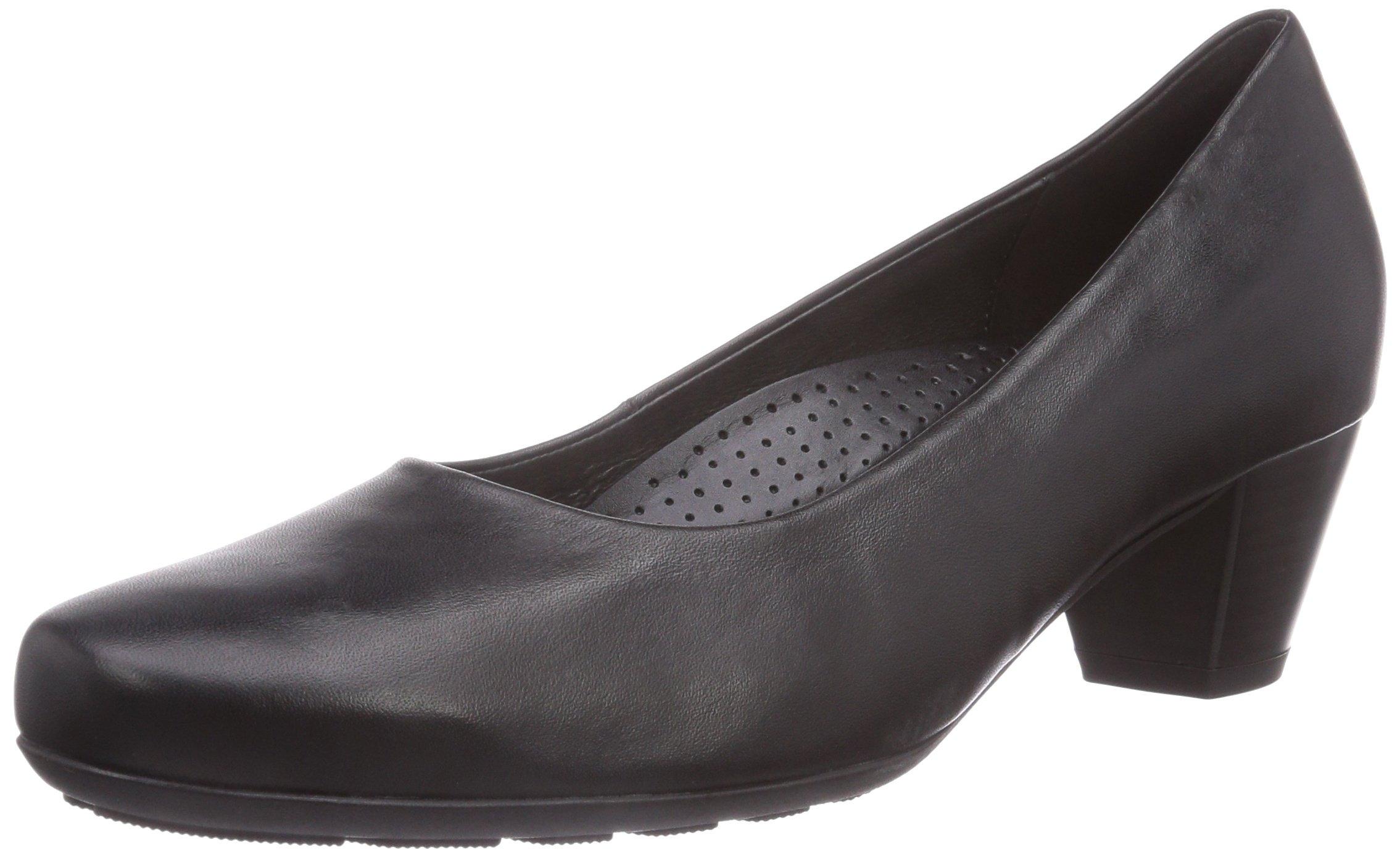 (TG. 40,5 Nero, EU) Gabor Brambling, Court shoes donna, Nero, 40,5 40.5 EU (B7W) 883821