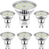 Bombilla GU10 LED, Wowatt LED GU10 2800K Blanco Cálido 5W Equivalente a Halógena de 40W GU10 Iluminación Interior AC 220V 420