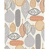 Arthouse 902301 Wallpaper, Orange, One Size