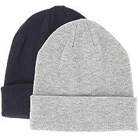 SHIPITNOW Berretto Uomo o Donna Tinta Unita - Cappello Invernali a Maglia Basic Senza Pompon - 100% Acrilico - Modello…