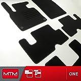 MTM Tapis de Sol C4 Grand Picasso II 7 Places Depuis 09.2013-, sur Mesure en Velours Noir One, cod. fr2867