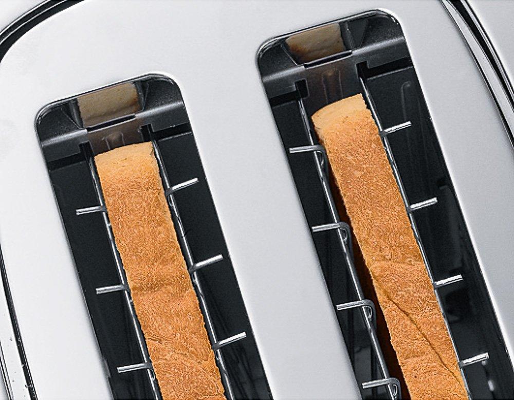 WMF-TERRA-Toaster-Doppelschlitz-Brtchenaufsatz-7-Brunungsstufen-Bagel-Funktion-berhitzungsschutz-980-W-Edelstahl-braun