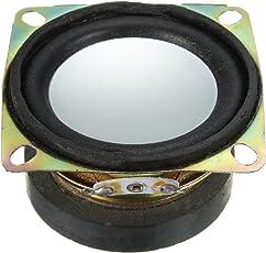 Rishil World 52mm 4 ohm Audio Speaker DIY 2 inch 3W Loudspeaker Speaker