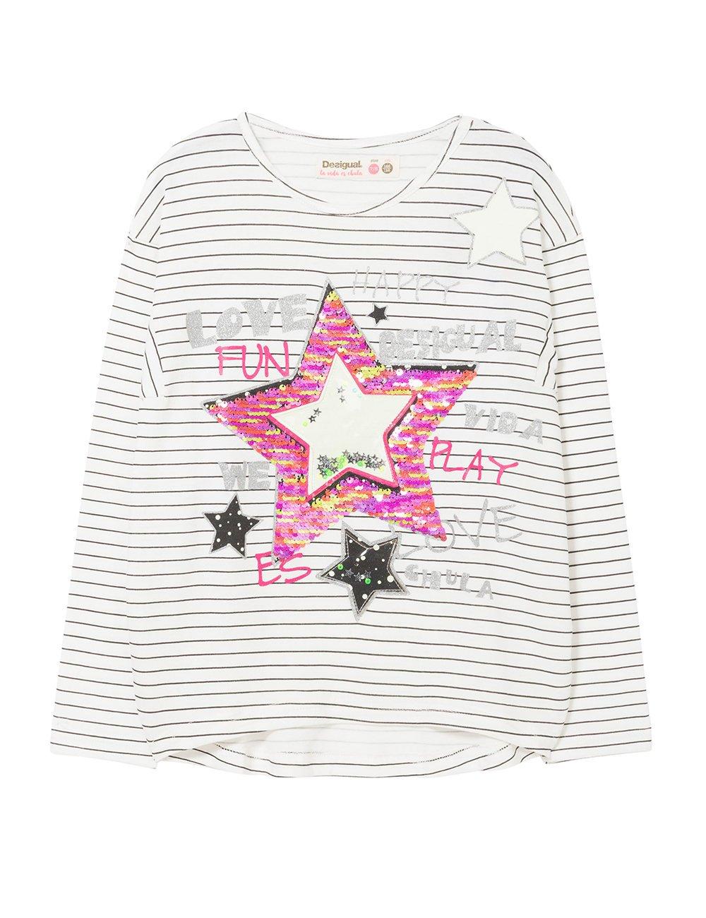 Desigual TS_Utah Camiseta para Niñas