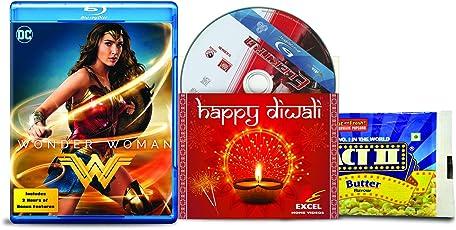Wonder Woman + Elektra - 2 English Movies (2 Blu-ray bundle offer)