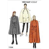 Vogue Patterns Cape et ceinture, mouchoir, multicolore, 15 x 0,5 x 22 cm
