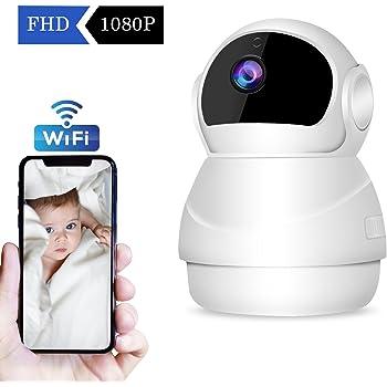 d8cd3189294e7f  2019 Nouvelle Version  CHORTAU Caméra de Sécurité sans Fil WiFi IP Caméra  Full HD