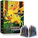 GUBOOM Pokemon verzamelalbum, Pokemon-kaarten, album houder, Pokemon-ordner boek GX EX-kaarten verzamelkaartenalbums, verzame