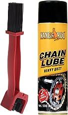 Kangaroo Chain Lubricant Spray 500ml + Brush