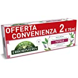 Antica Erboristeria, Dentifricio Totale Antiplacca con Ingredienti Naturali, Gusto Salvia e Menta, 2 X 75 Ml