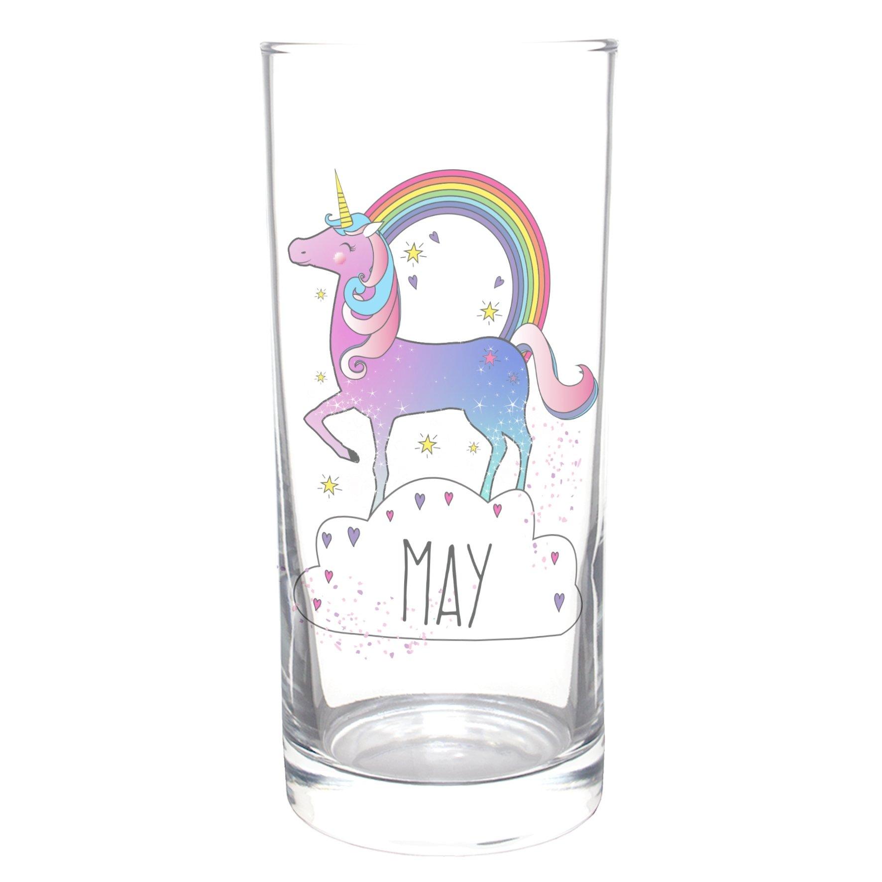 Personalised-Unicorn-Glass