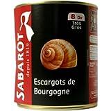 Sabarot Finest Burgundy Snails 800gr 96 large snails