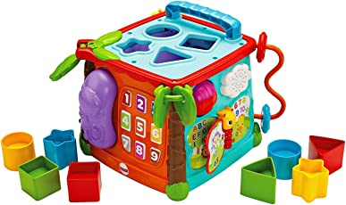 Fisher Price Busy Box Man Use, Multi Color