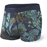 SAXX Underwear Co. Biancheria Intima Per Il Baule - Biancheria Intima Platino - Slip Per Il Baule Con Supporto Per Custodia D